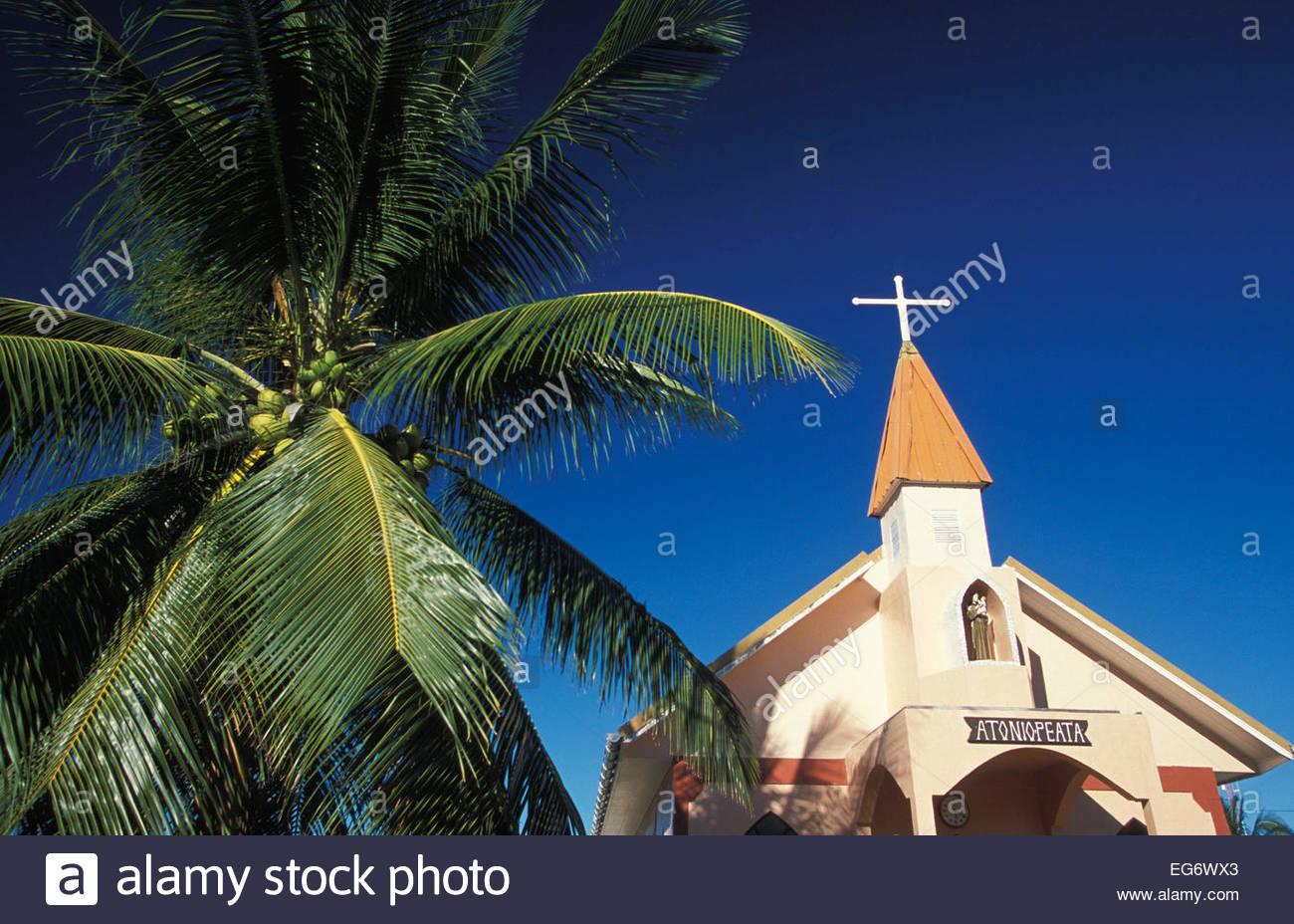 Tuamotu, Takapoto atoll, French Polynesia - Stock Image