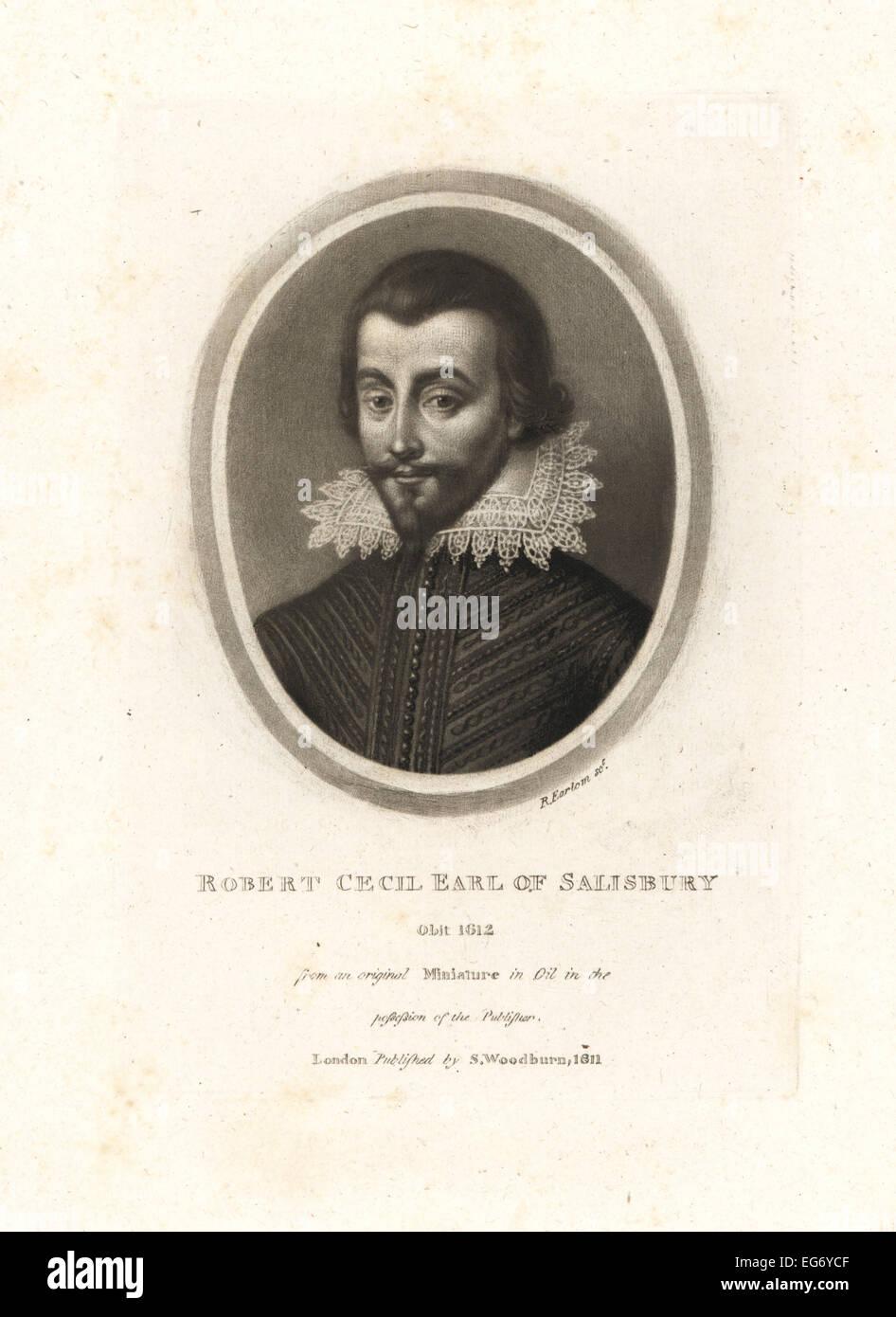 Robert Cecil, 1st Earl of Salisbury, died 1612. - Stock Image