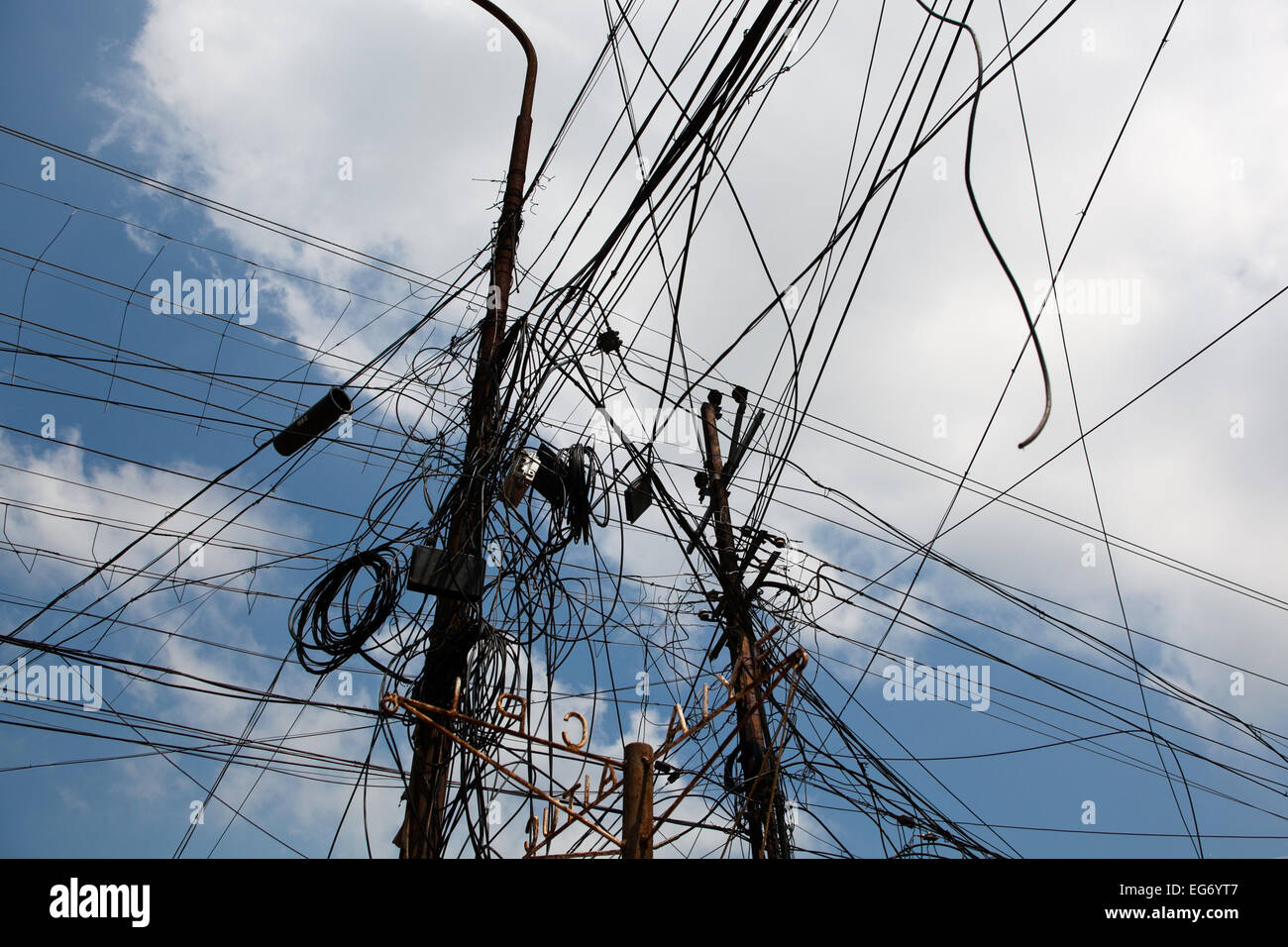 Strange Crazy Electrical Wiring Cochin Kerala India Stock Photo 78829527 Wiring 101 Ferenstreekradiomeanderfmnl