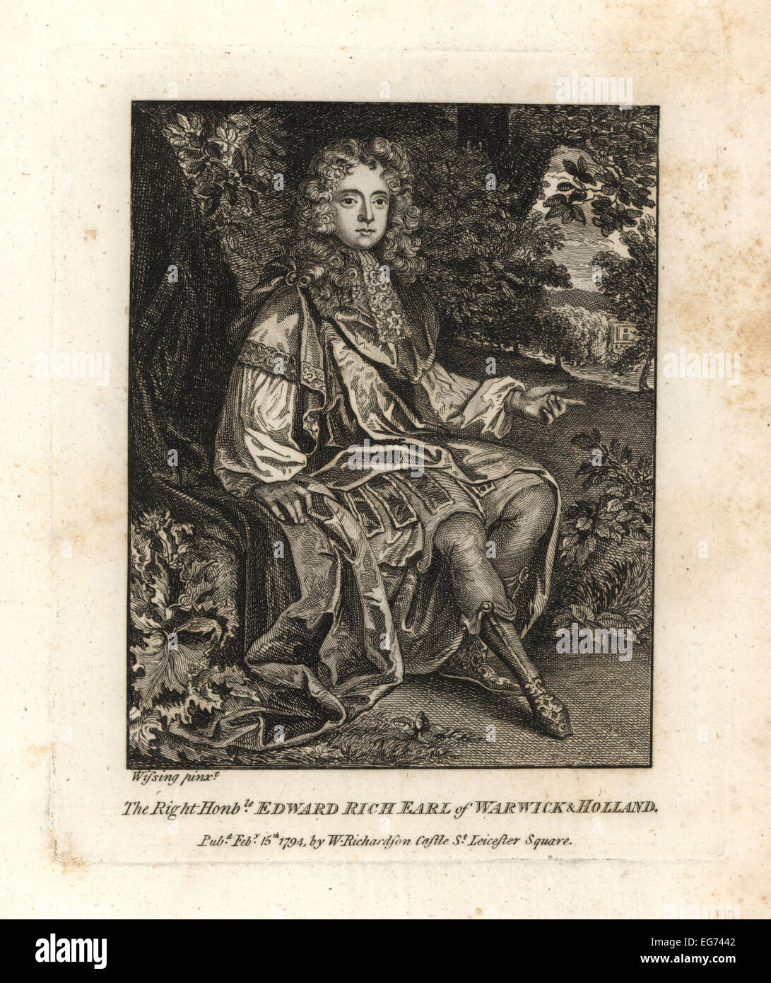 Earl Of WarwickStock Photos and Images