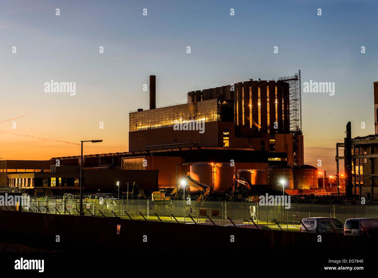 Dungeness atomic power station EDF Energy - Stock Image