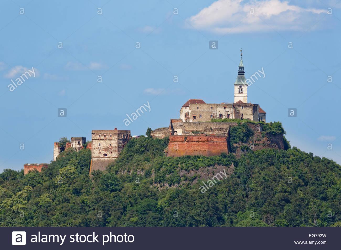 Austria, Burgenland, Stremtal, Guessing castle - Stock Image