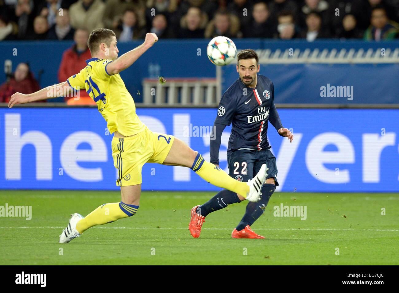 9263cbe256 Ezequiel LAVEZZI - 17.02.2015 - Paris Saint Germain / Chelsea - 1/8Finale