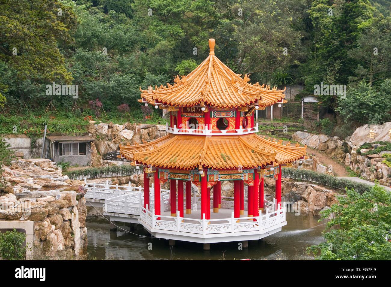 Zhian temple, Taiwan, China, Asia - Stock Image