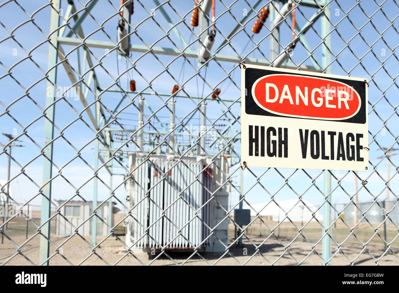 Danger High Voltage Stock Photos & Danger High Voltage Stock Images ...