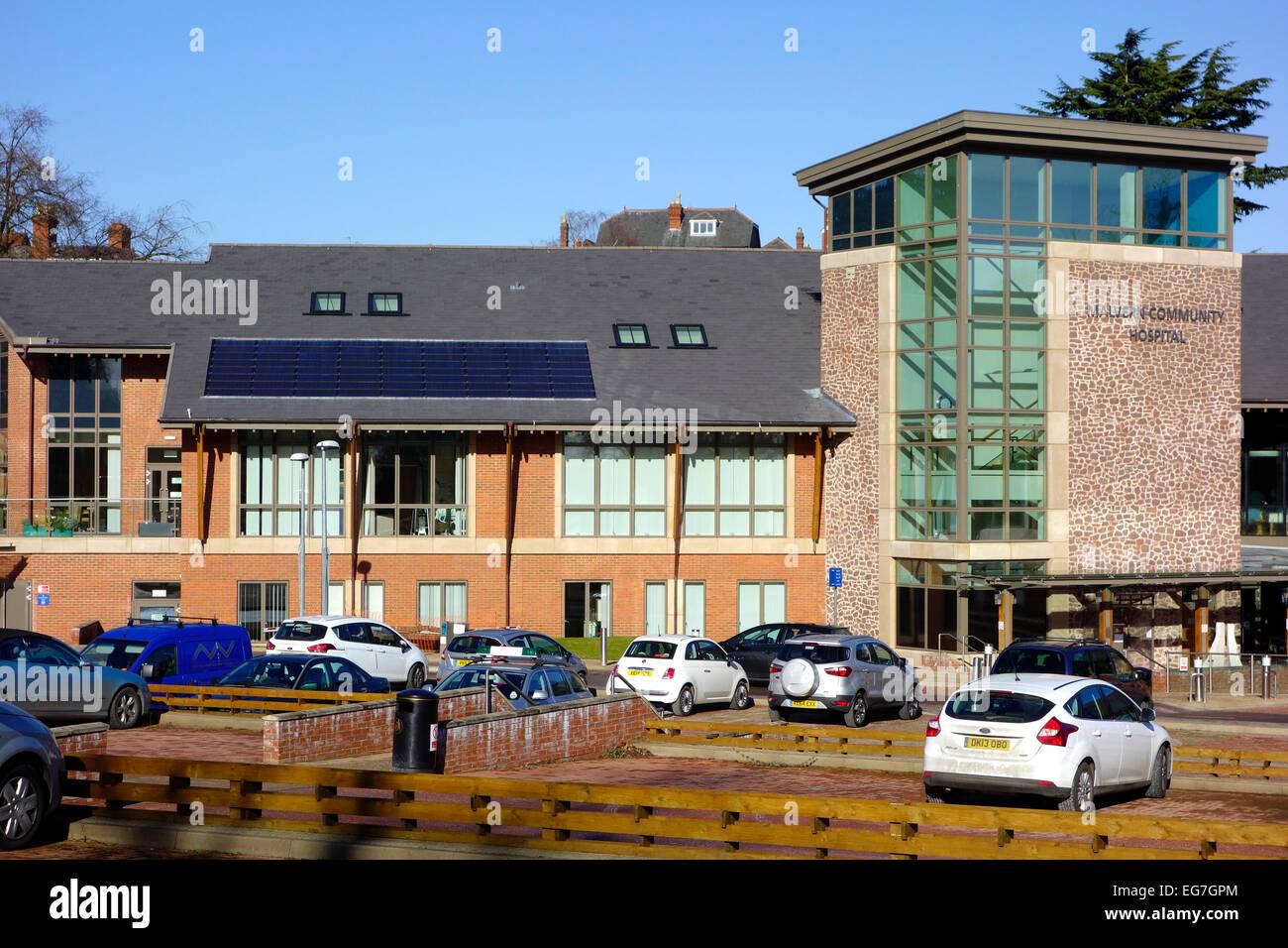Malvern NHS Community Hospital, Worcester Road, Malvern Link, Worcestershire, England, UK - Stock Image