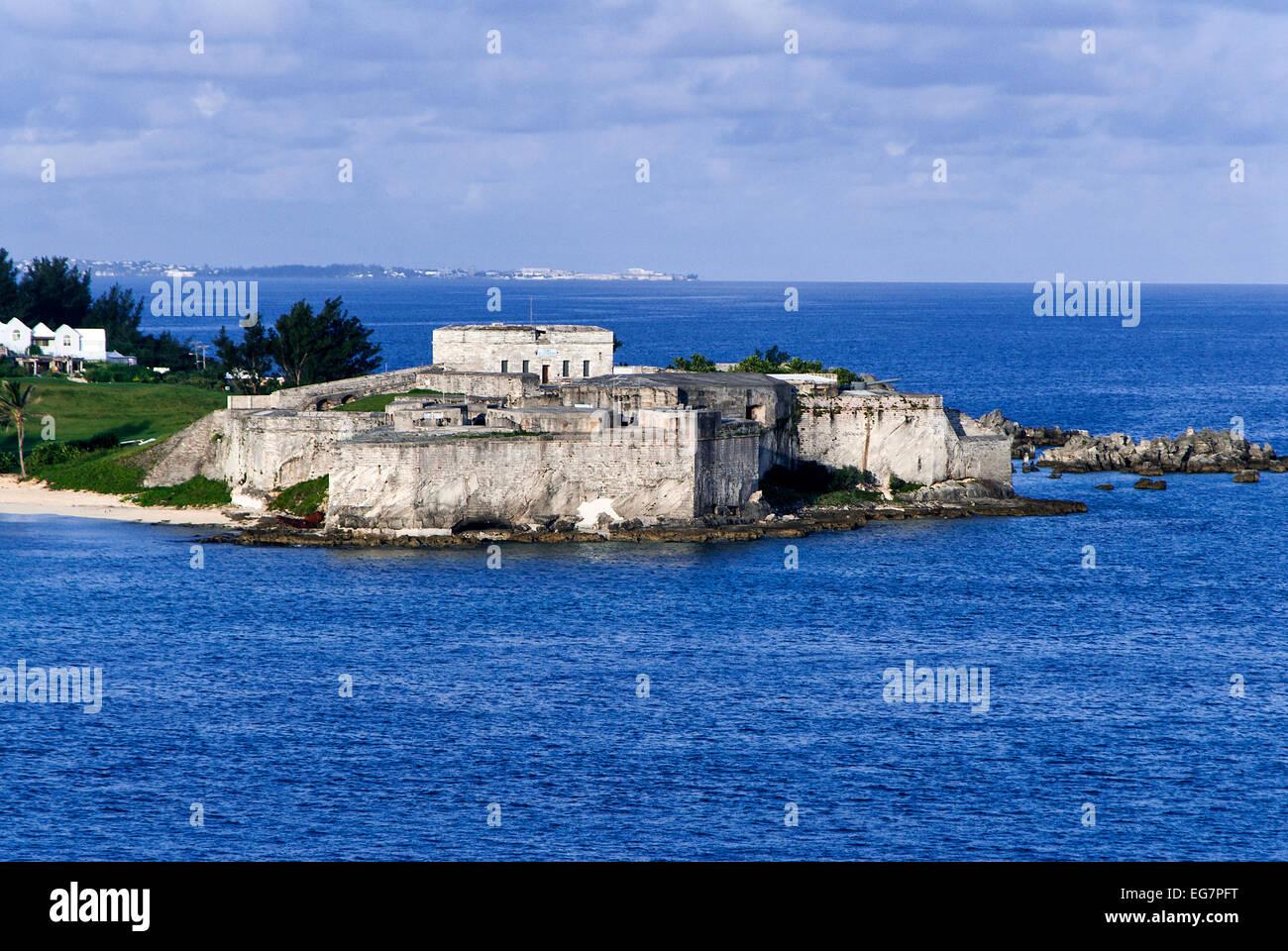 Fort St. Catherine, St George Bermuda - Stock Image
