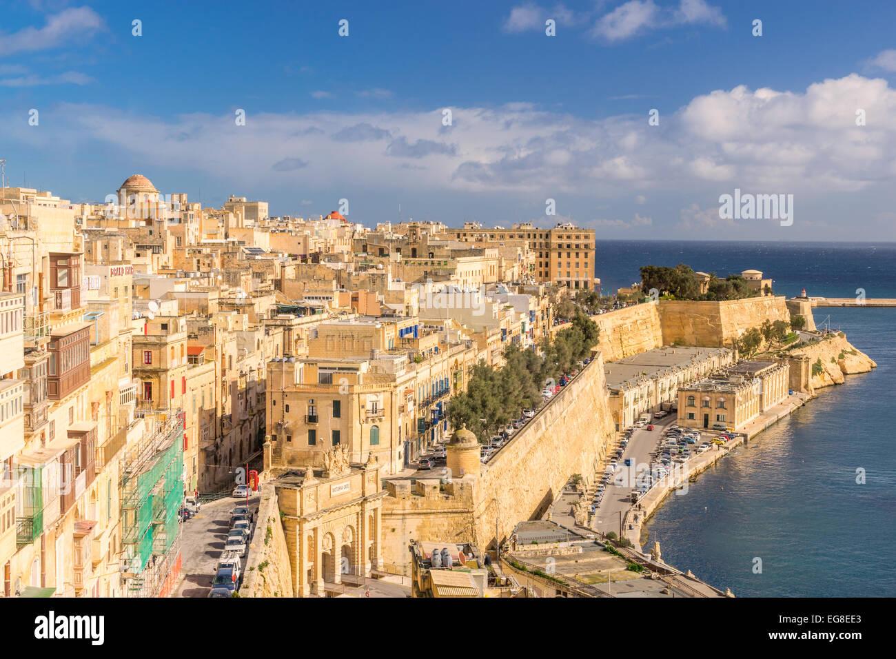 Valletta - Stock Image