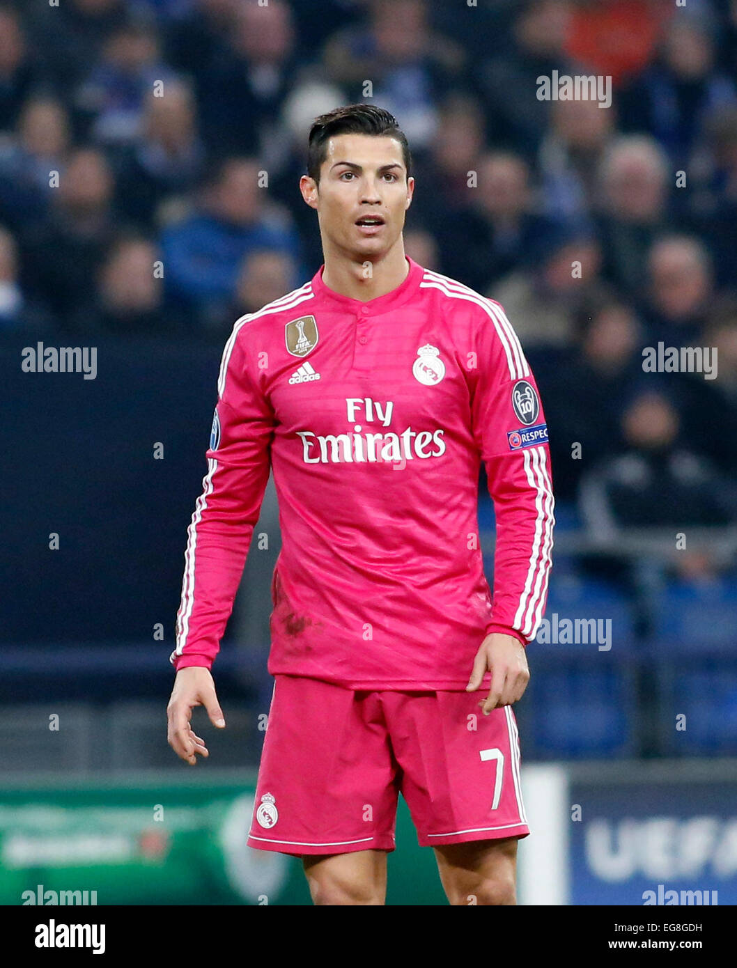 separation shoes 9b9d6 df3b9 Cristiano Ronaldo (Real Madrid) looks on during the ...