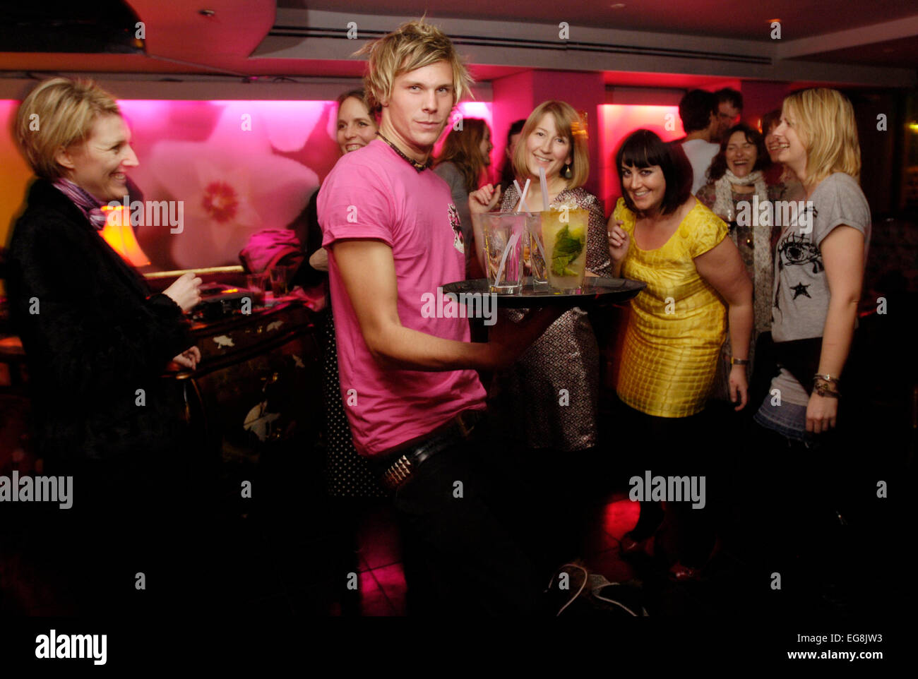 'Digging Your Scene' at Punk club Soho St W1 23 rd March 2007 pics and copyright nick cunard  commission - Stock Image