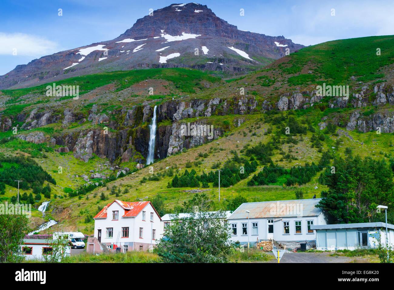 Seydisfjordur. Iceland, Europe - Stock Image