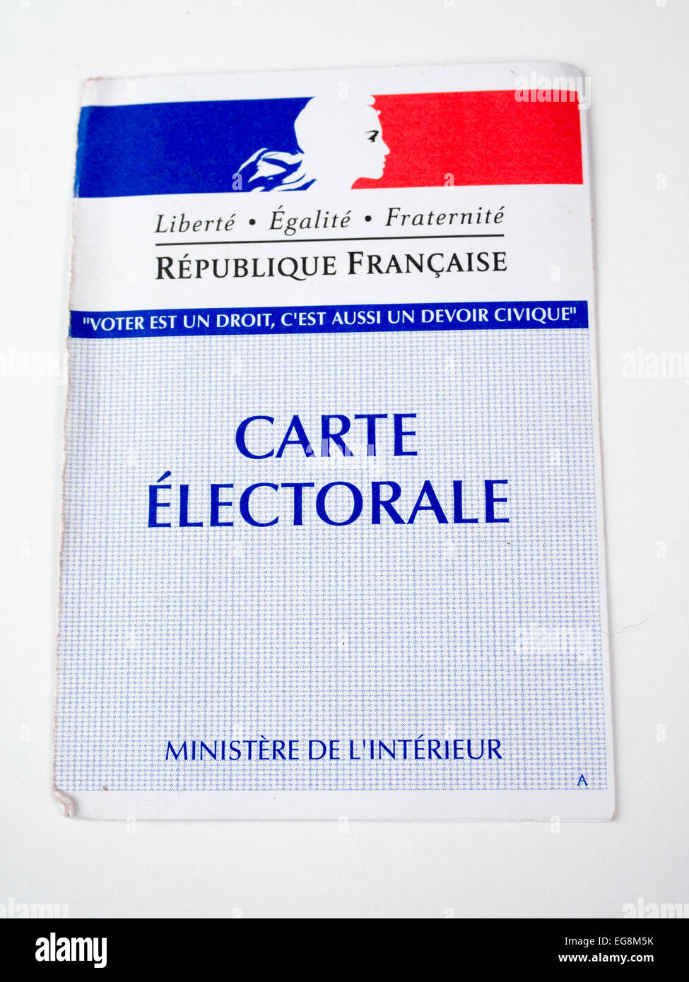 electoral card, vote, vote, France , freedom, equality