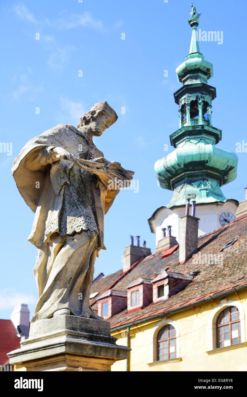 Michael's Tower (Michalska Brana) in Bratislava, Slovakia - Stock Image