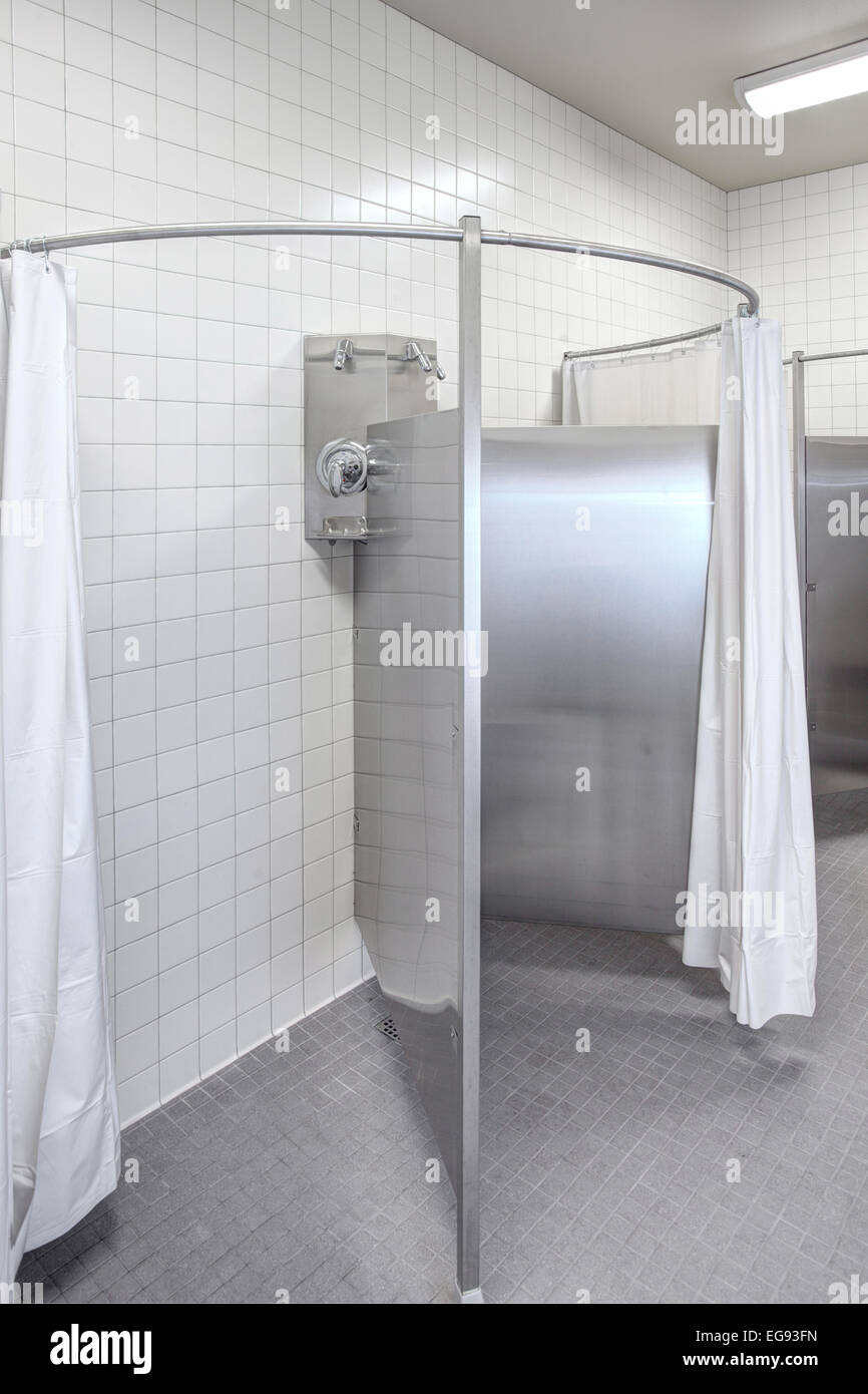 Communal Showers Stock Photos  Communal Showers Stock Images - Alamy-7212