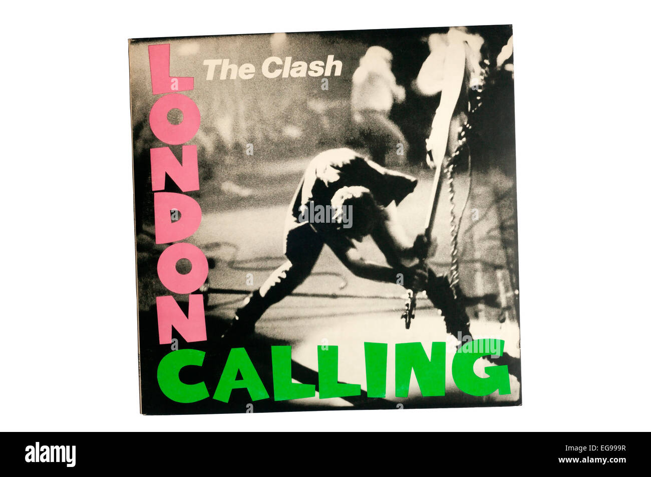 London Calling was the third studio album by English punk rock band The Clash. - Stock Image