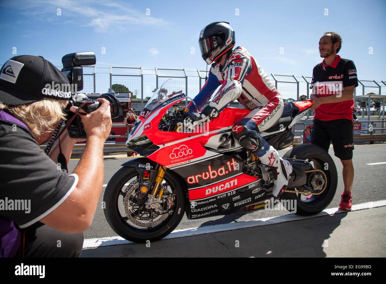 Ducati World Superbike Stock Photos & Ducati World Superbike