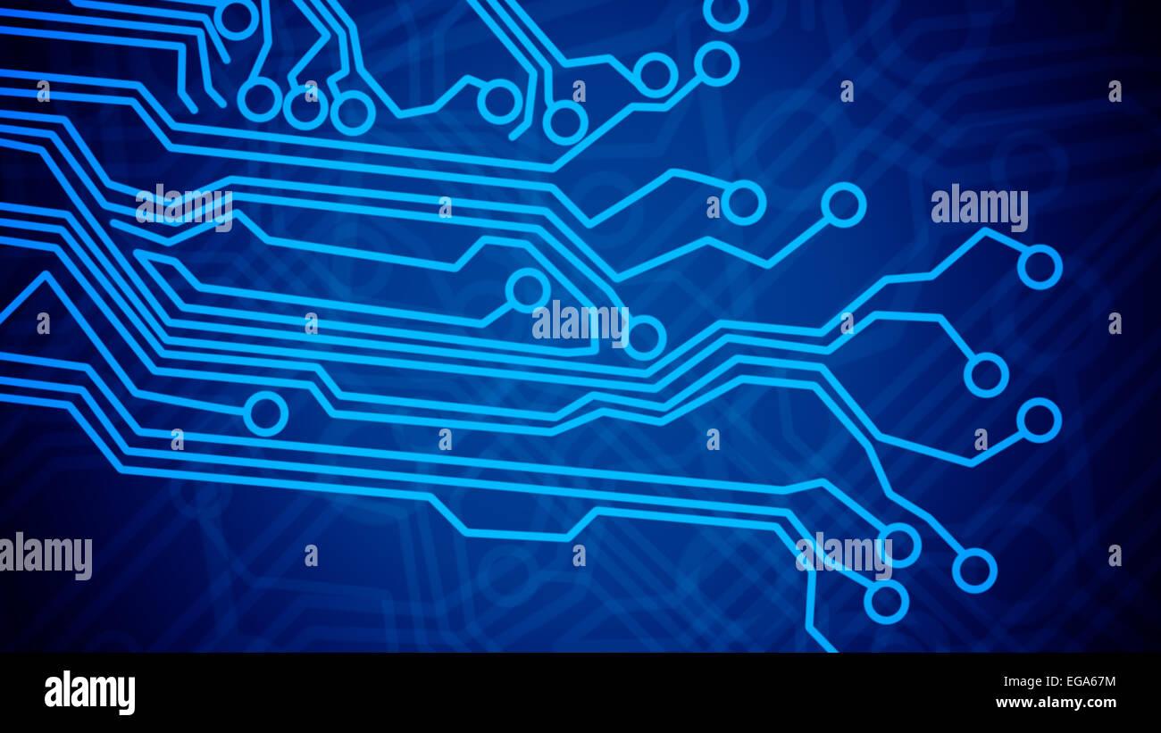 Motherboard Circuit Illustration: Circuit Board Vector Stock Photos & Circuit Board Vector