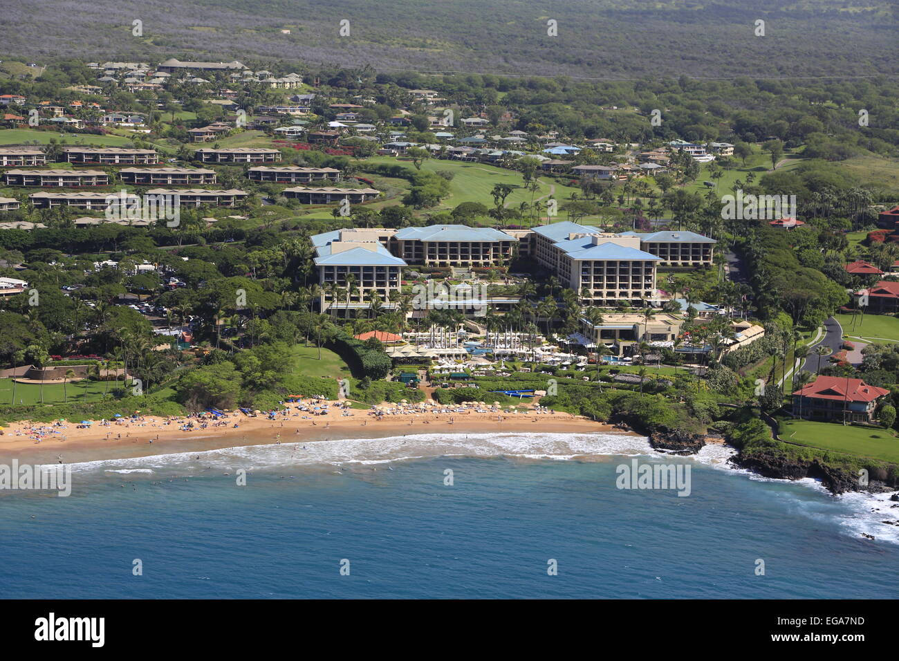 Four Seasons, Wailua Beach and Resort, Maui, Hawaii - Stock Image