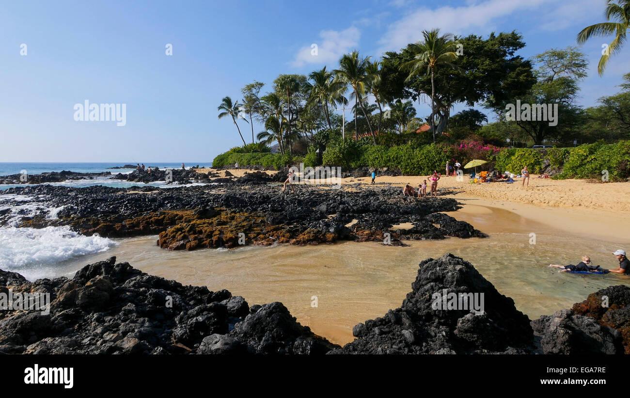 Makena Beach State Park Maui Hawaii Stock Photo 78901634