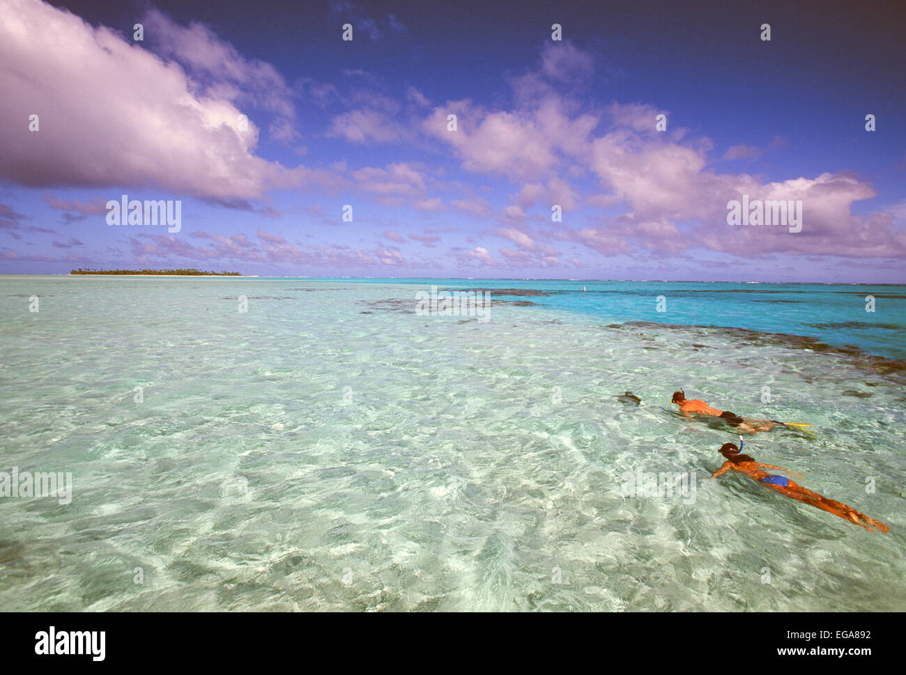 Aitutaki, Cook Islands - Stock Image