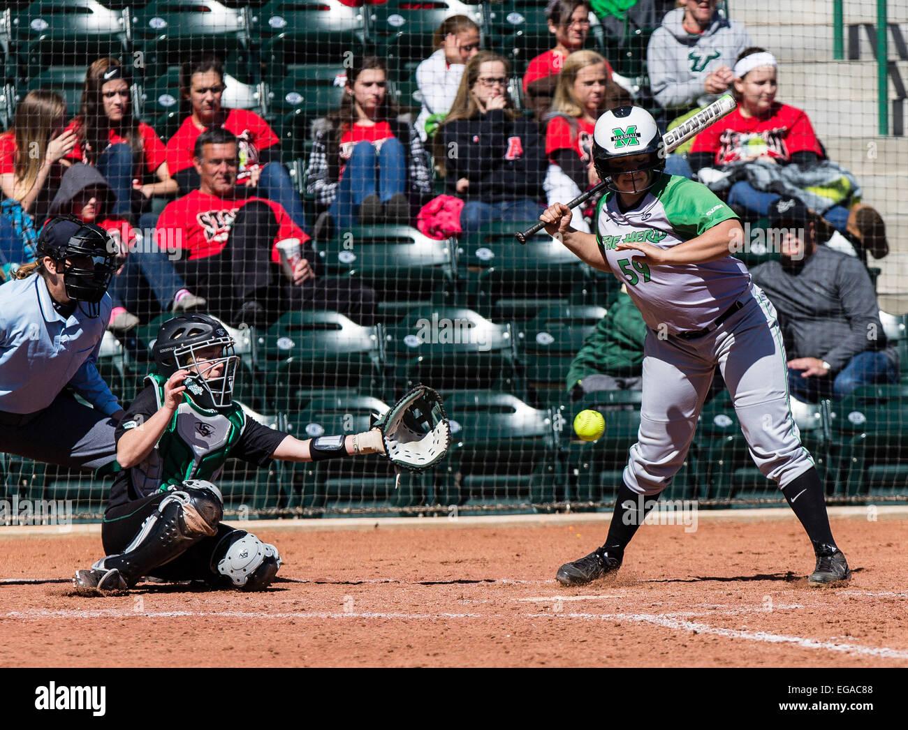 Tampa FL, USA  20th Feb, 2015  Marshall shortstop Raquel