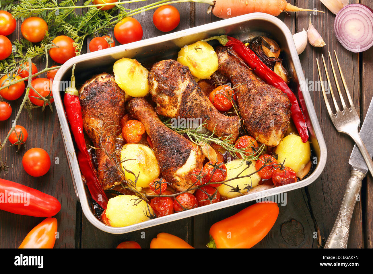 recipe: roasted drumsticks and vegetables [12]