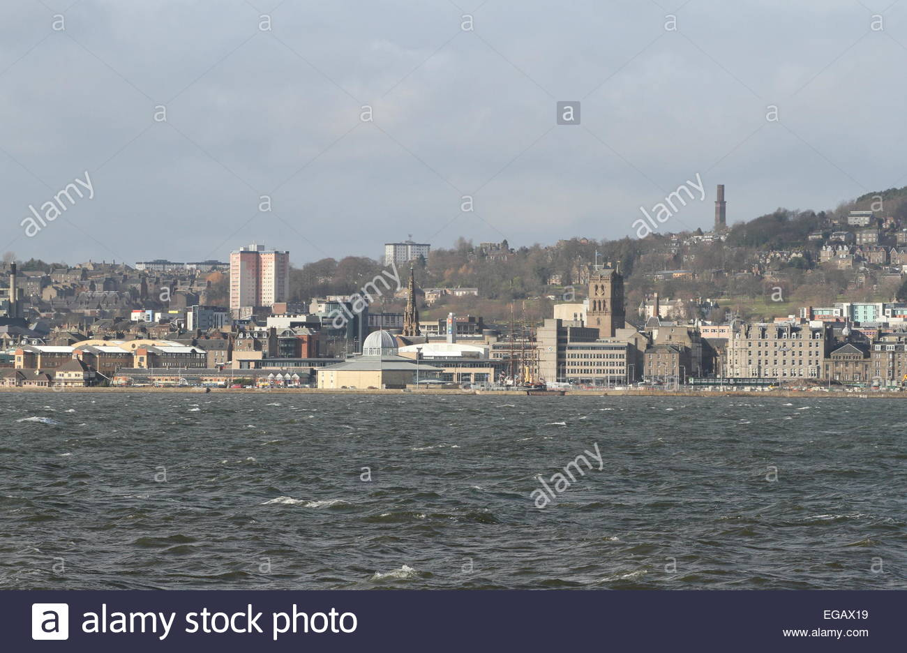 Discovery Point Dundee waterfront Scotland February 2015 Stock Photo