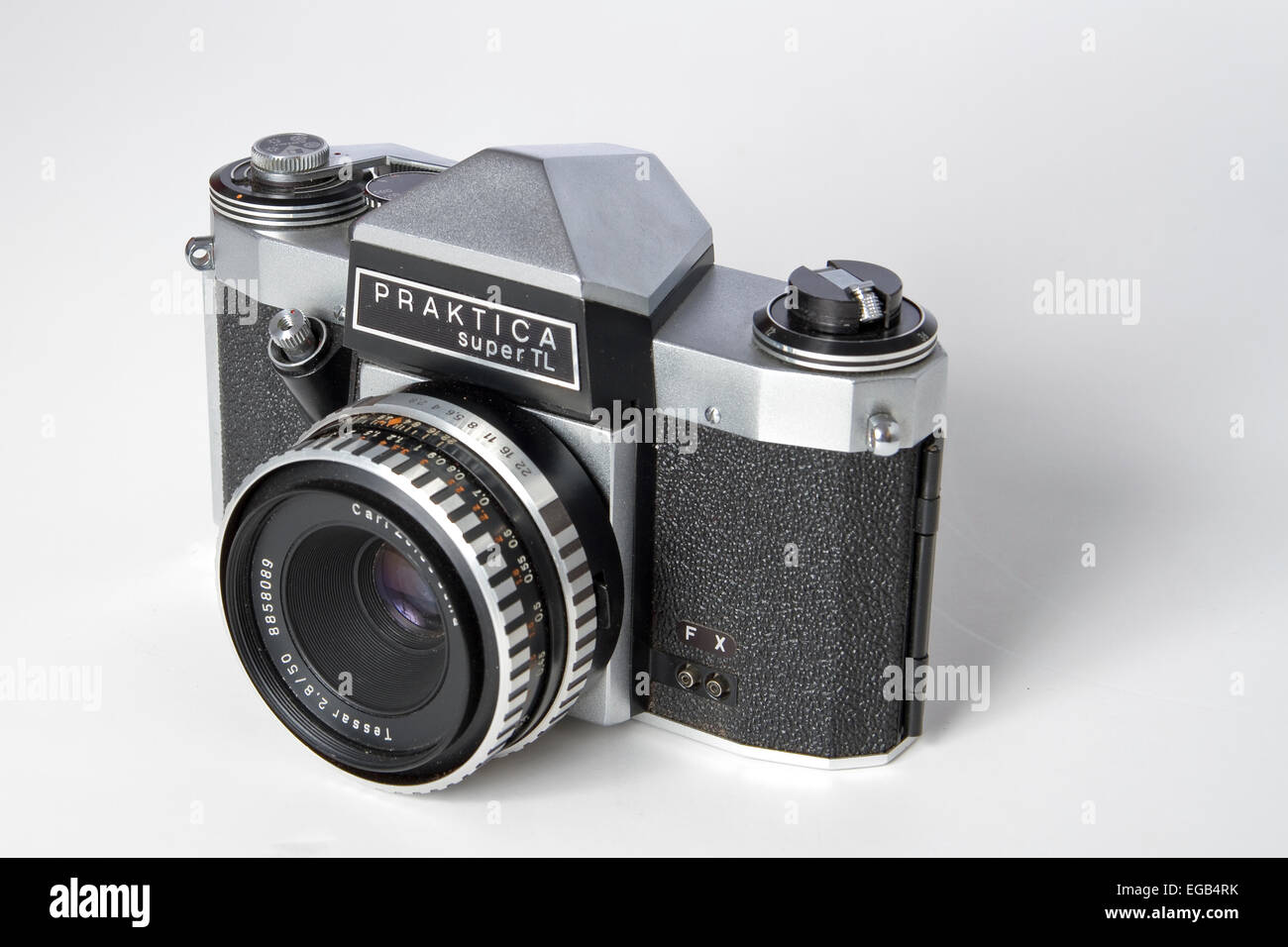 Praktica Super TL 35mm SLR Camera Vintage Camera - Stock Image