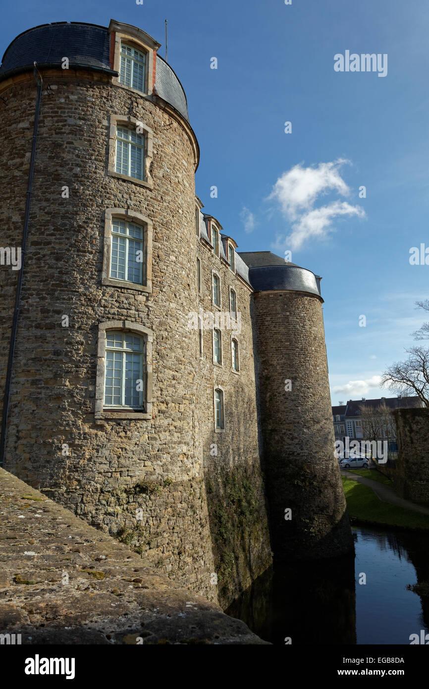 Château de Boulogne-sur-Mer - Stock Image
