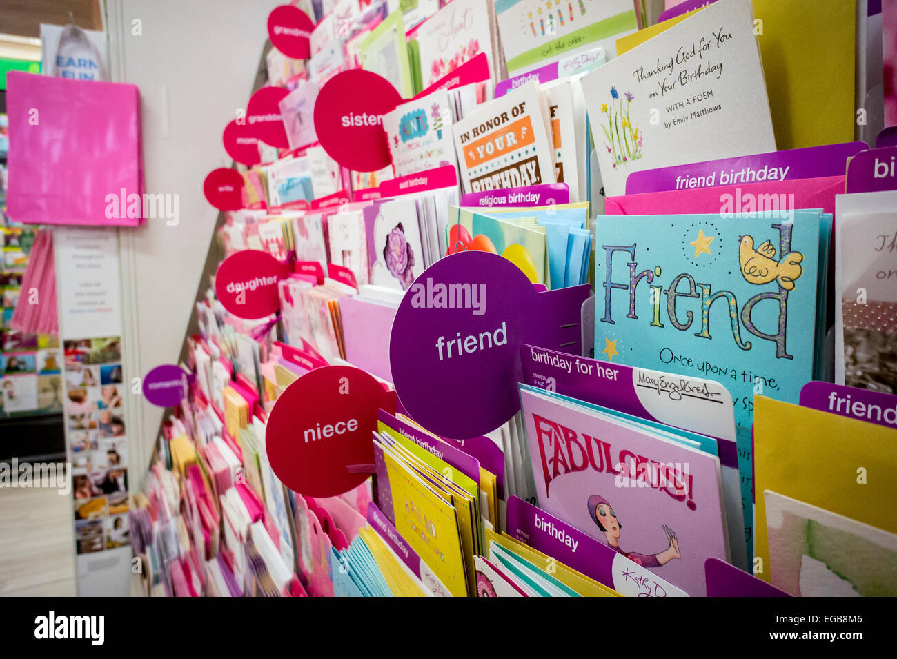 A Selection Of Greeting Cards Are Seen In Display Store New York On Thursday February 19 2015 C Richard B Levine