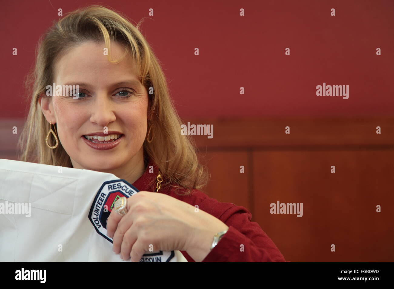 Volunteer EMT - Stock Image