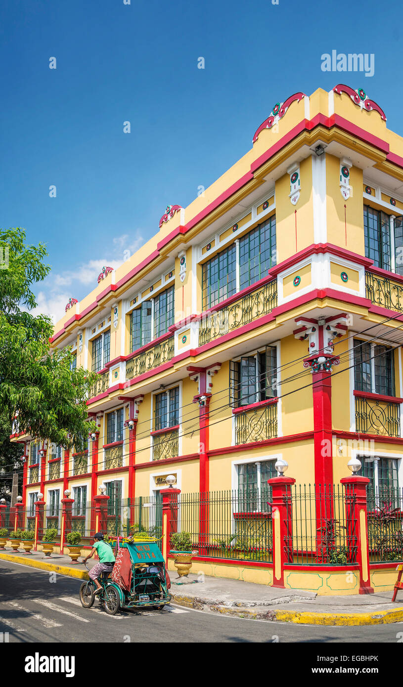 colonial house in intramuros historic area of manila philippines Stock Photo