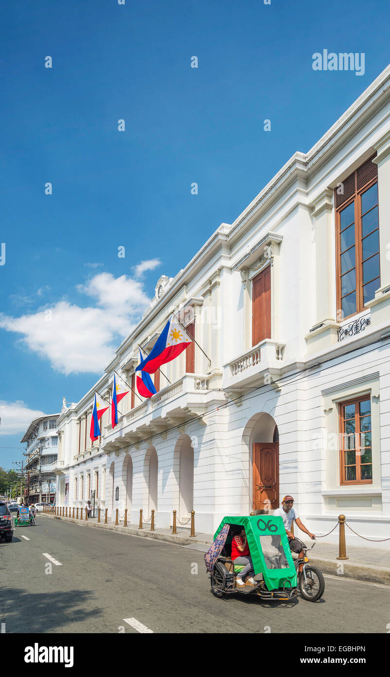 national treasury in intramuros historic area of manila philippines - Stock Image