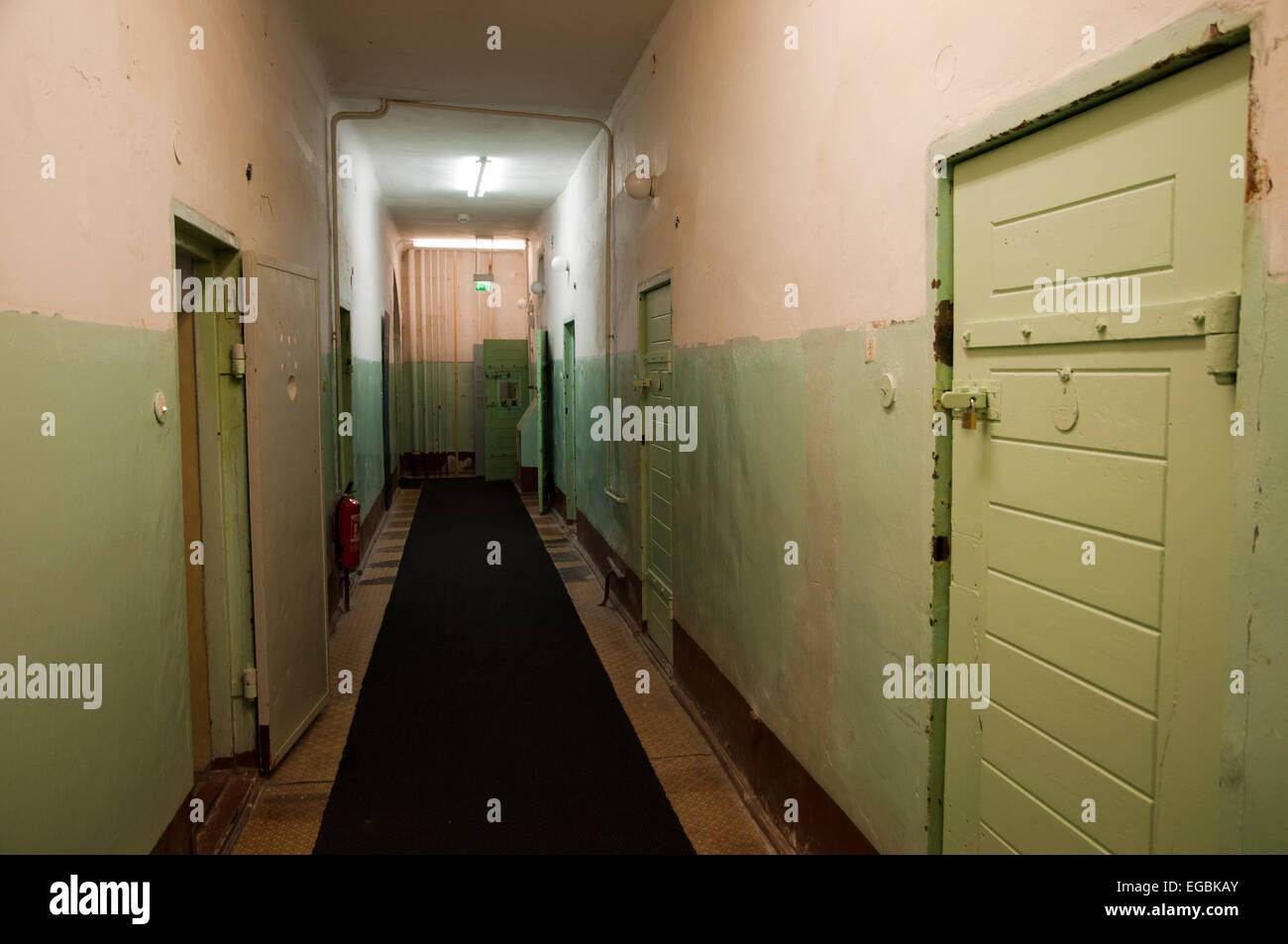 Former Soviet KGB prison, Leistikowstrasse, Potsdam, Germany - Stock Image