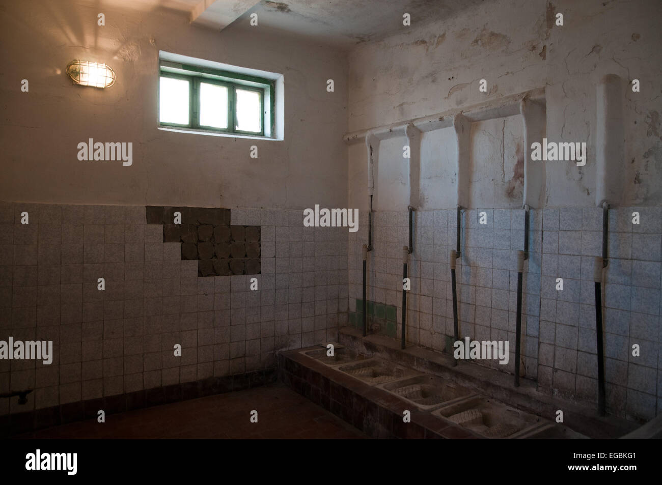 Former Soviet KGB prison, Leistikowstrasse, Potsdam, Germany Stock Photo