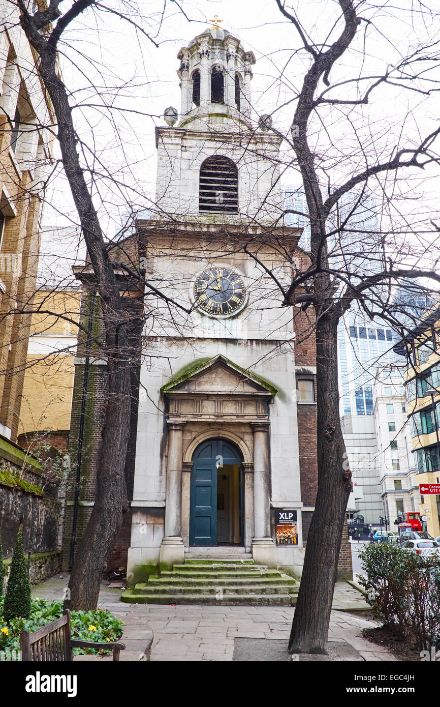 All Hallows-On-The-Wall London Wall London UK - Stock Image