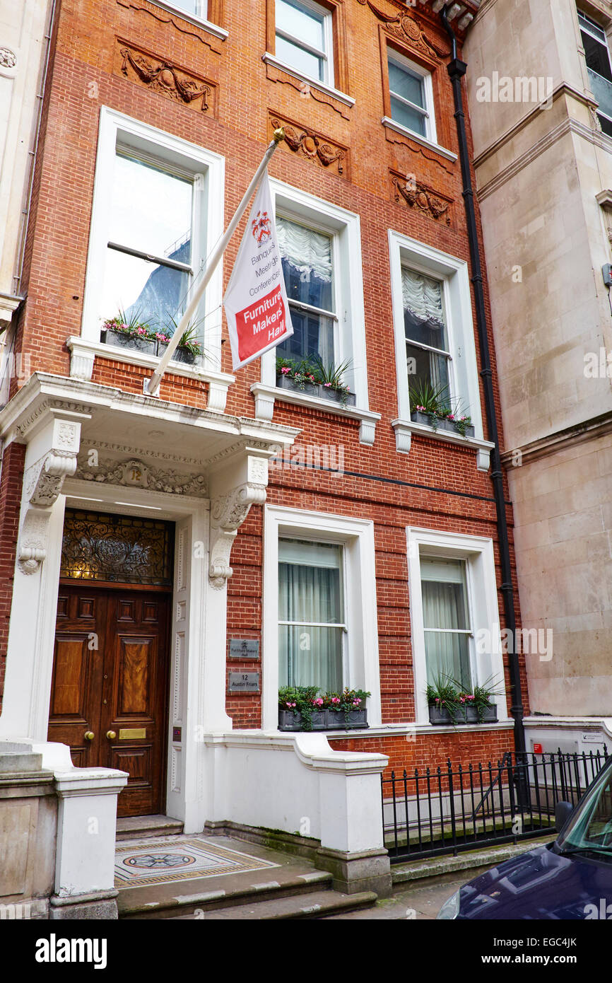 Charming Furniture Makers Hall Austin Friars City Of London UK   Stock Image