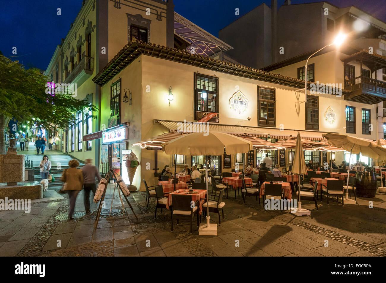 Puerto De La Cruz Old Town Restaurants
