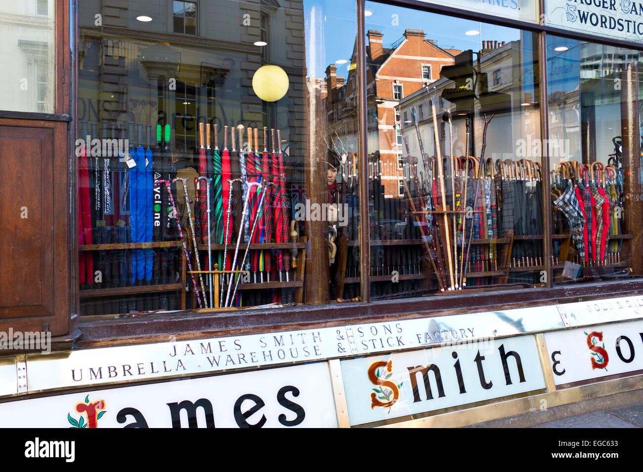 James Smith and Sons,Umbrellas,Walking Sticks,Malacca Canes,Word