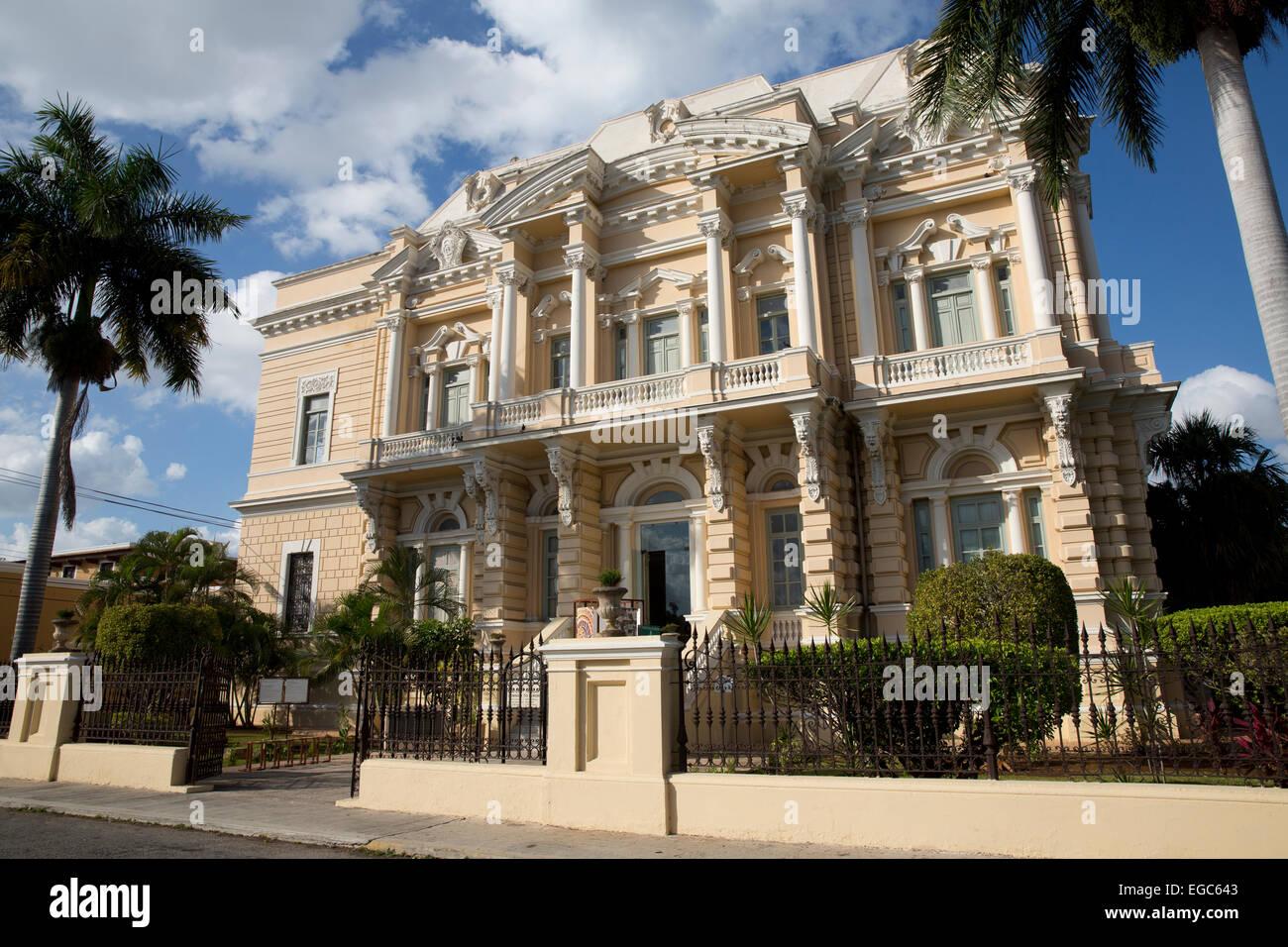 Museo Regional de Antropoligia, Merida, Yucatan, Mexico - Stock Image