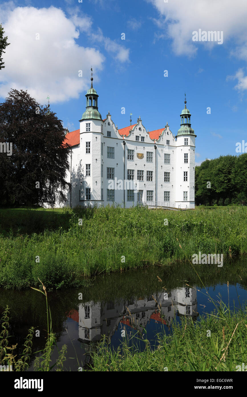 Ahrensburg castle, Schleswig-Holstein, Germany, Europe - Stock Image