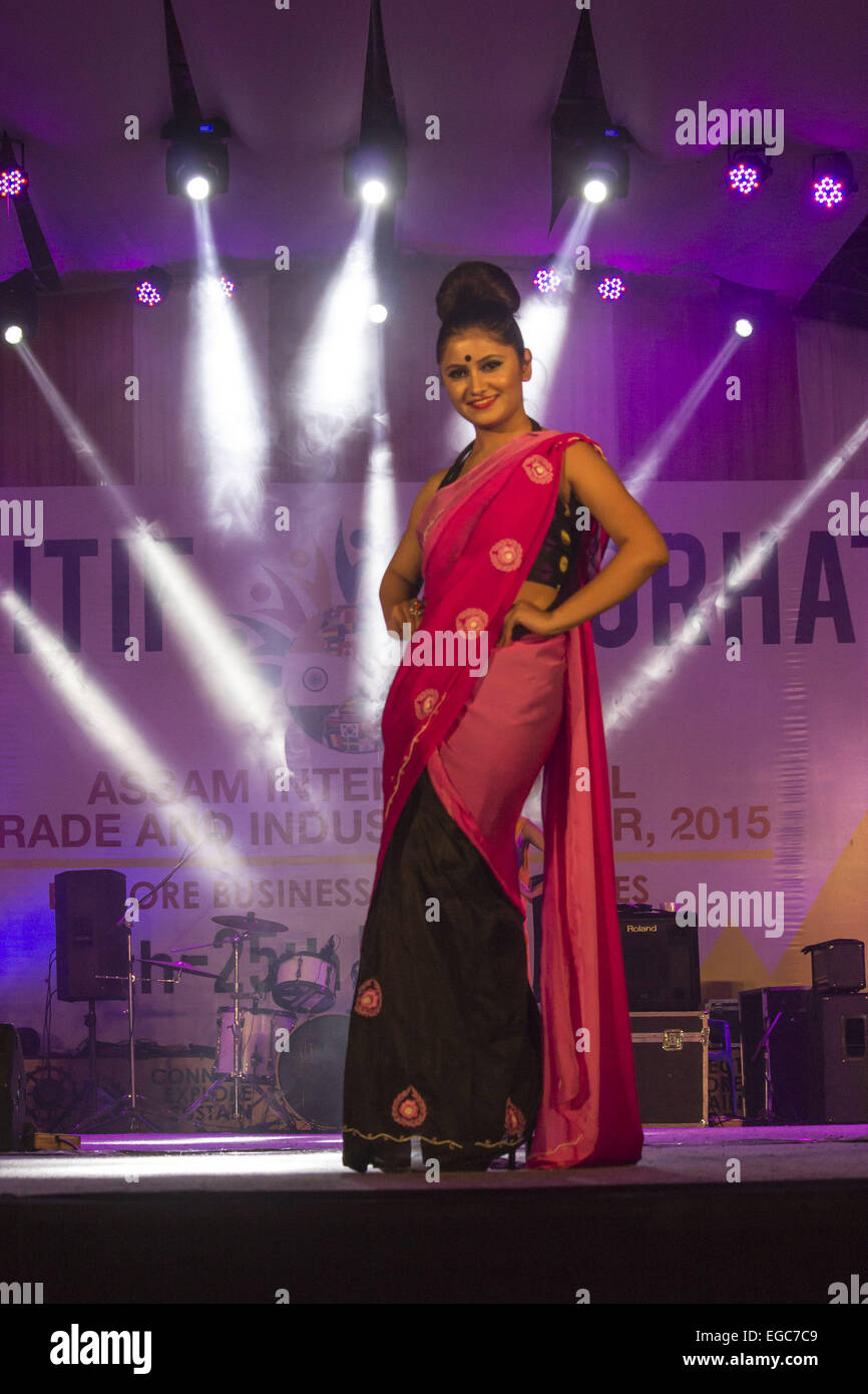 model ramp walk high resolution stock photography and images alamy https www alamy com stock photo jorhat assam india 22nd feb 2015 an indian model walk on the ramp 78945225 html