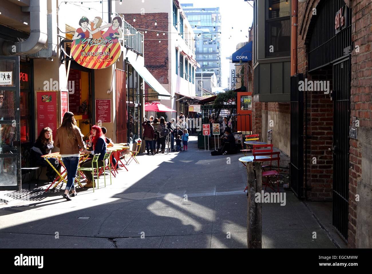 Post Alley Is A Short Alley In Seatltle S Historic Pike