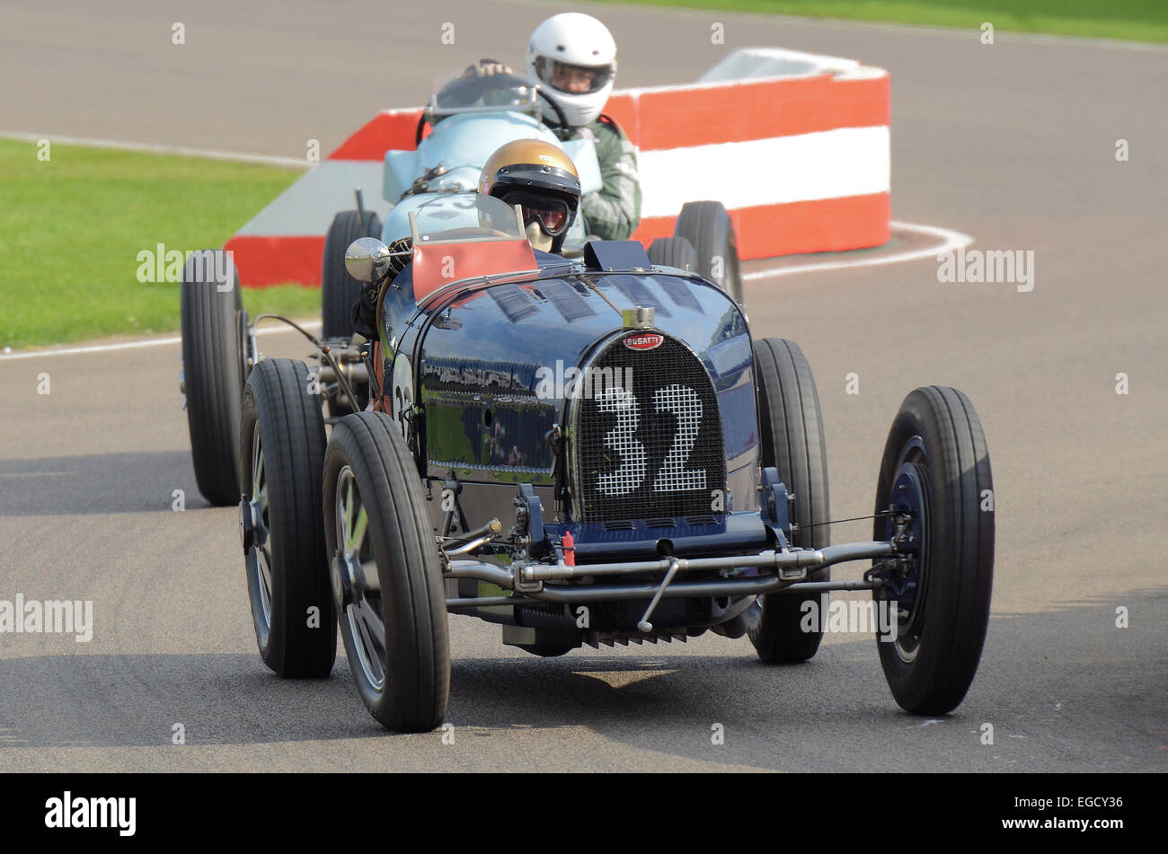 The Type 51 series succeeded the famous Type 35 as Bugatti's premier racing car for the 1930s, but couldn't - Stock Image