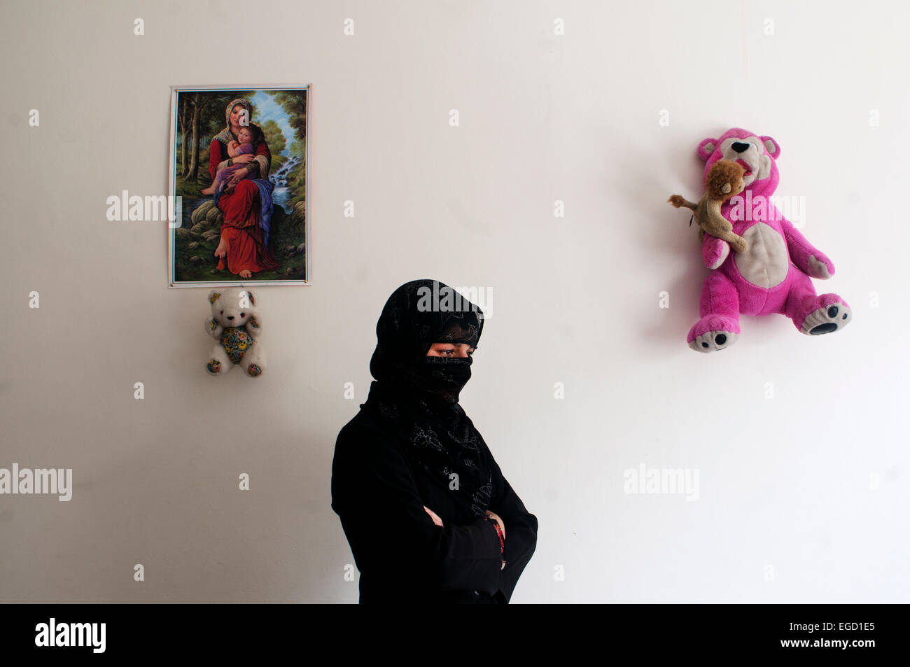 Kabul. Hawca safe shelter for women who are victims of domestic violence Stock Photo
