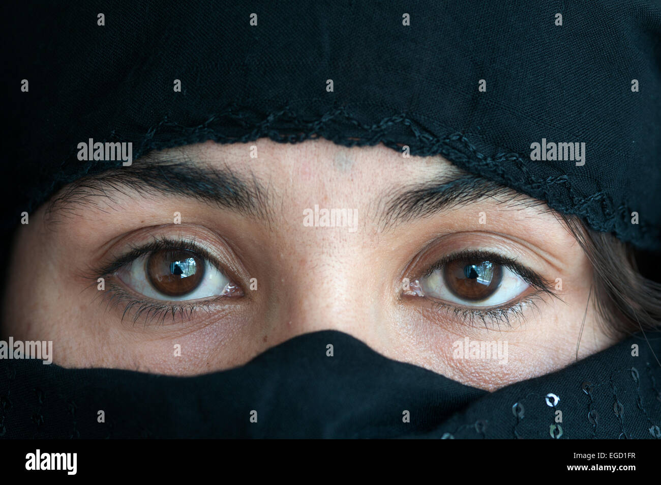 Kabul. Hawca safe shelter for women. Stock Photo
