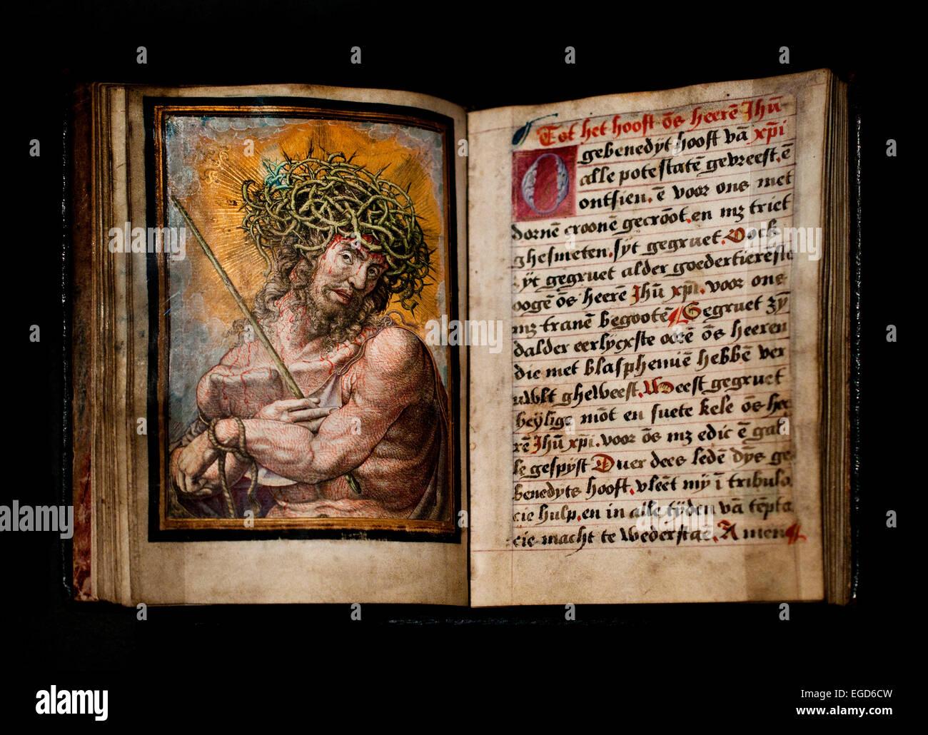 Christ as the Man of Sorrows 1525 Frans Crabbe van Espleghem Dutch Netherlands Stock Photo