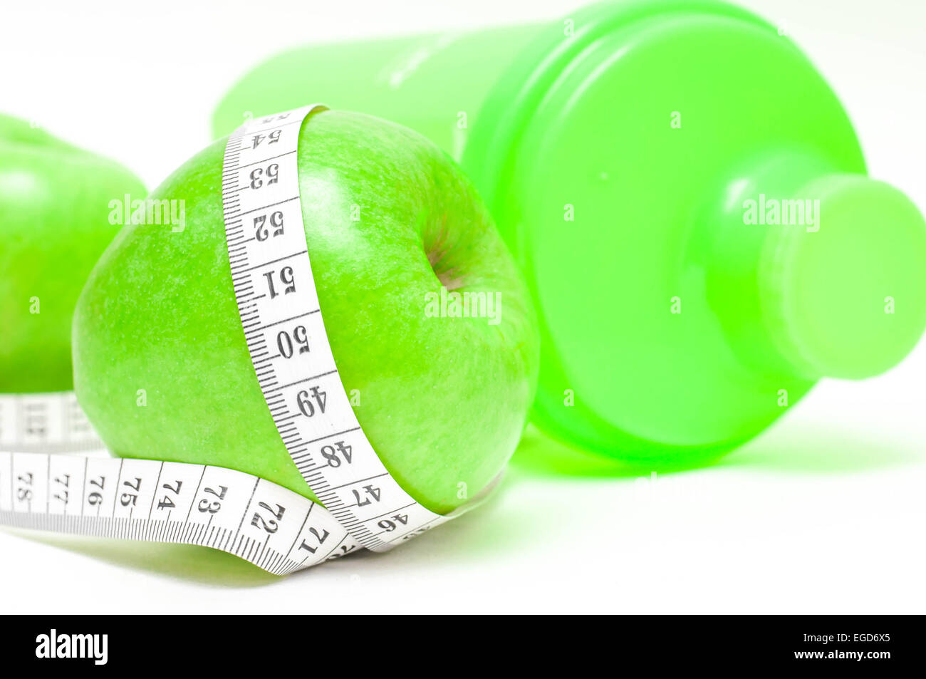 Diet concept   Healthy Living - nutrition and exercising
