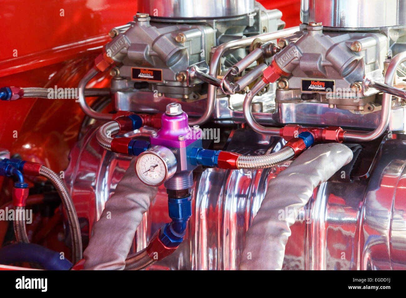 Chevy 350 Engine Stock Photos & Chevy 350 Engine Stock