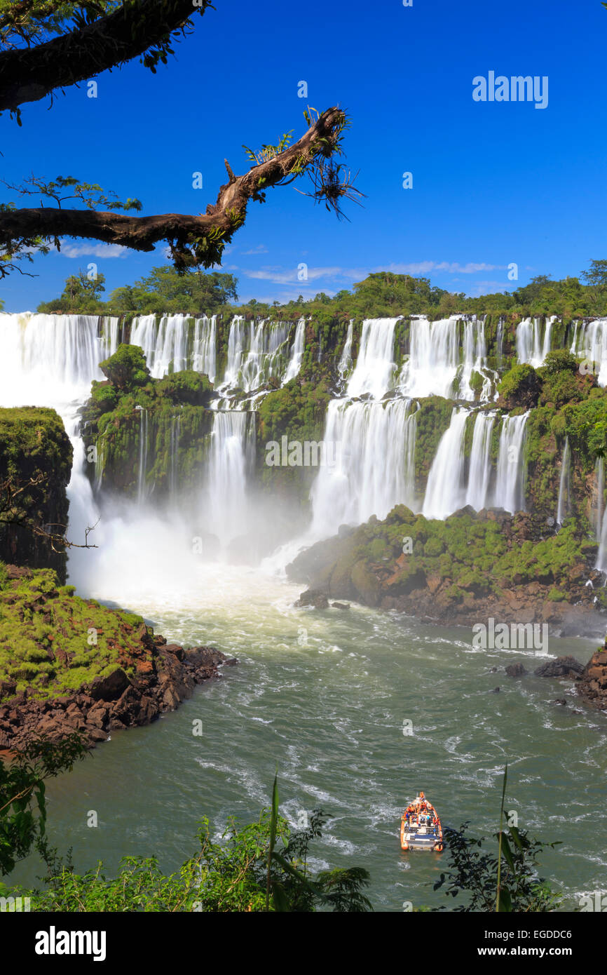 Argentina, Iguazu Falls National Park, (UNESCO Site) - Stock Image